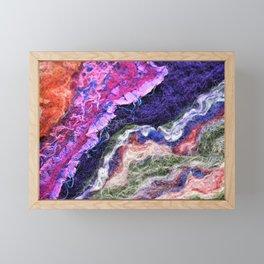 4 Triangles - FELT Expressions Framed Mini Art Print