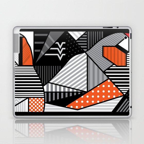 zebra finches Laptop & iPad Skin