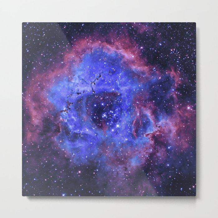 Supernova Explosion Metal Print