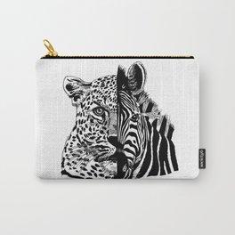 jaguar zebra monster Carry-All Pouch