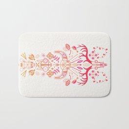 La Vie & La Mort – Pink & Orange Ombré Bath Mat