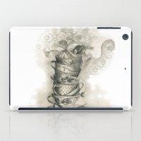 bath iPad Cases featuring Tea bath by Julia Kisselmann