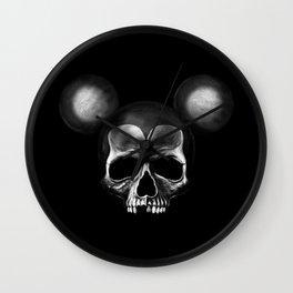 Mickey Mouse skull Wall Clock
