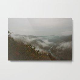 New River Gorge; West Virginia  Metal Print