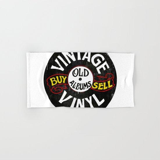 Vintage Vinyl Hand & Bath Towel