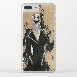 Gaster - Dark Darker Yet Darker Clear iPhone Case