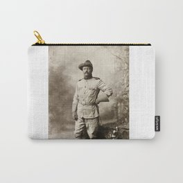 Col. Theodore Roosevelt, in Rough Rider Uniform Carry-All Pouch
