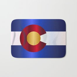 State Flag Of Colorado Bath Mat