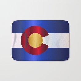 State Flag Of Colorado Bath Mat