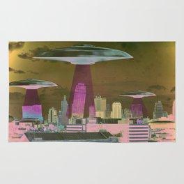 UFO Sightings- KC skyline Rug