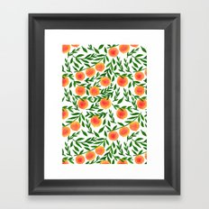 The Peach Tree Framed Art Print