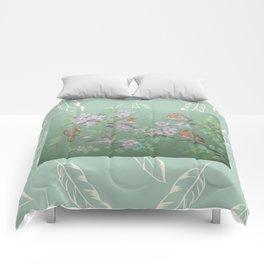 Singing birds & Blossom Comforters