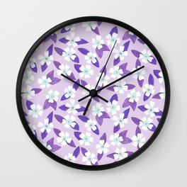 Orchid Paradise Wall Clock