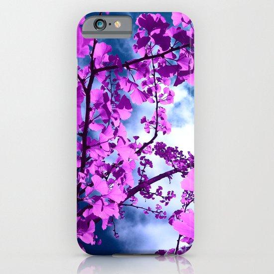 purple ginkgo tree VII iPhone & iPod Case