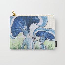 Empire of Mushrooms: Lactarius indigo Carry-All Pouch