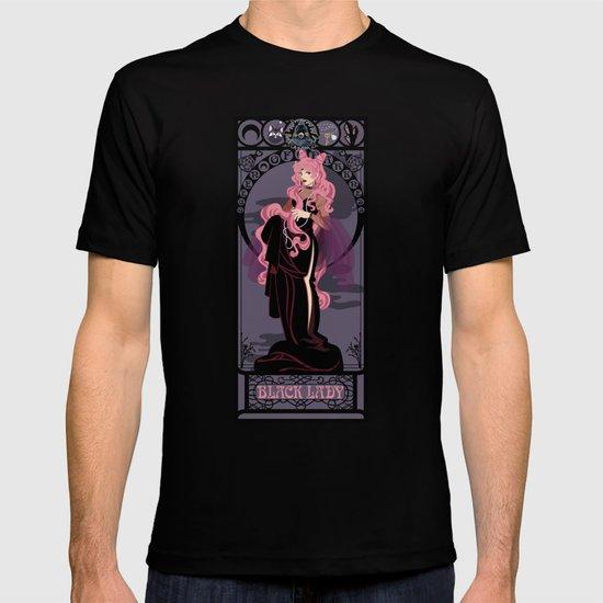 Black Lady Nouveau - Sailor Moon T-shirt