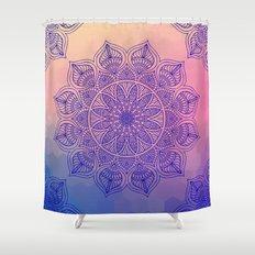Mild Mandala Shower Curtain