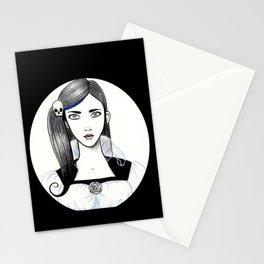 Jennifer Skull Stationery Cards