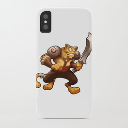 Battle Cat iPhone Case