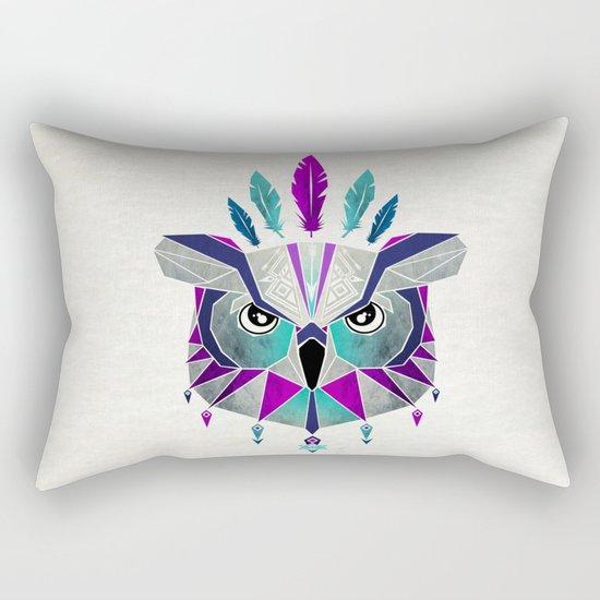 owl king Rectangular Pillow