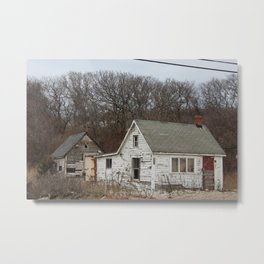 old houses Metal Print