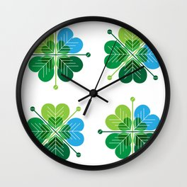St. Patrick's Love Wall Clock