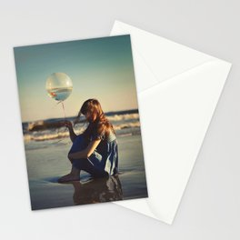 It takes an ocean Stationery Cards
