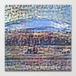 Recolored Mount Brocken Canvas Print