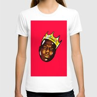 biggie T-shirts featuring Biggie by Sulaiman aldaham