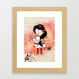 Galina Framed Art Print