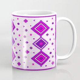 Purple Heritage Traditional Boho Moroccan Style Coffee Mug