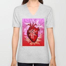Heartbeat Unisex V-Neck