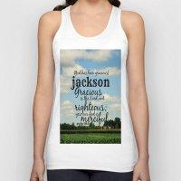 percy jackson Tank Tops featuring Jackson by KimberosePhotography