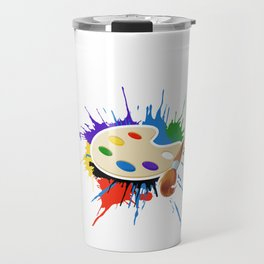 I Arted Art design Travel Mug