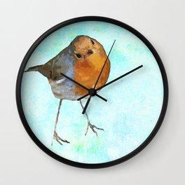 Robin -The visitor Wall Clock