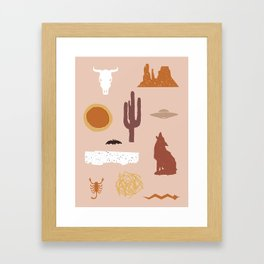 Death Valley Days 1 Framed Art Print