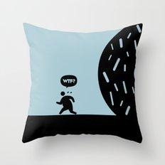 WTF? Donna! Throw Pillow