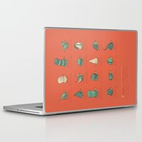 study Laptop & iPad Skins featuring A Study of Turtles by Hector Mansilla