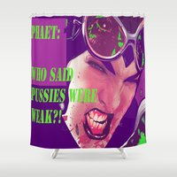 catwoman Shower Curtains featuring Catwoman by Urban Underdogs