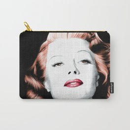 Rita Hayworth Large Size Portrait Carry-All Pouch