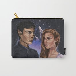 High Lord and Lady of the Night Carry-All Pouch