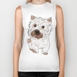 Lolo, West Highland Terrier Biker Tank