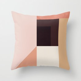 Abstraction_Colorblocks_001 Throw Pillow