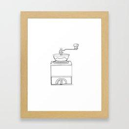 """Kitchen Collection "" - Coffee Grinder Framed Art Print"
