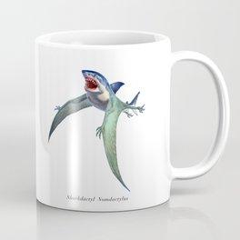 Sharkdactyl Nomdactylus Coffee Mug