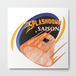 Splashdown Saison Metal Print