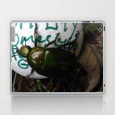 The Beetle. [INSECTS] [GREEN BEETLE] [INSECT] [BEETLE] Laptop & iPad Skin