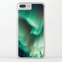 Aurora I Clear iPhone Case