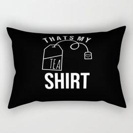 tea shirt Rectangular Pillow