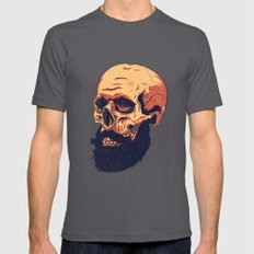 Mr. Skull Asphalt MEDIUM Mens Fitted Tee